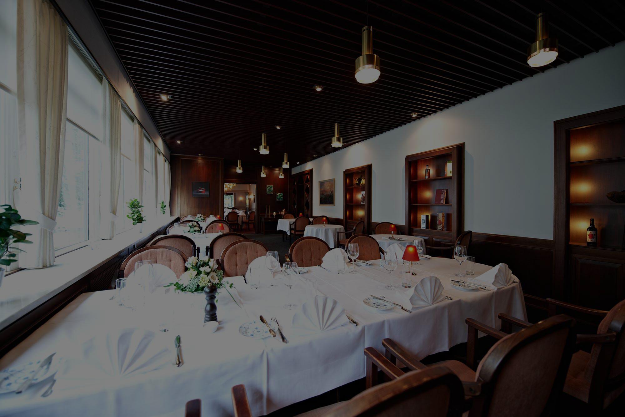 Restauranten selskabslokale i Odense - Næsbyhoved Skov